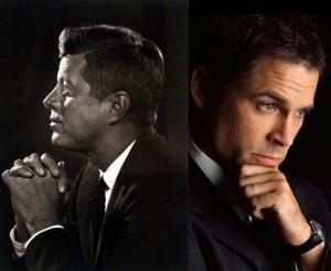 Rob Lowe stars as JFK in Killing Kennedy.