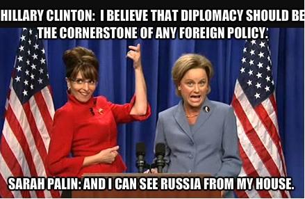 Hillary and Sarah